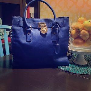 Cobalt Blue Michael Kors handbag